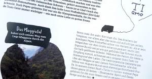 Slab Serif Fonts im Coop Magazin aus der Schweiz