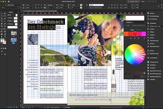 Webinare zu Layout, typografischer Spannungsbogen