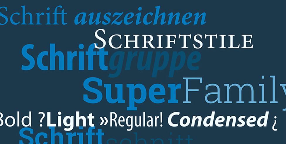 Webinar zu Schriftmischung und Schriftauszeichnung.