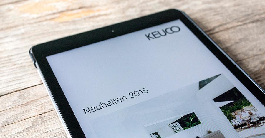 Wir stellen die KEUCO-App, den digitalen Produktkatalog des Sanitärherstellers, vor.