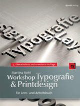 Workshop Typografie & Printdesign von Martina Nohl Cover